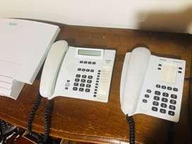 Central telefónica Siemens