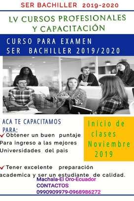 Curso Ser Bachiller 2019/2020
