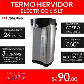 Termo Hervidor Eléctrico Premier 6.5 Lt.