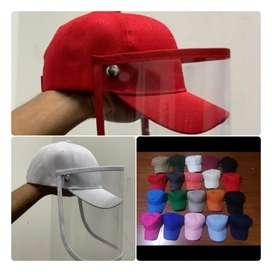 Gorras con visores removibles