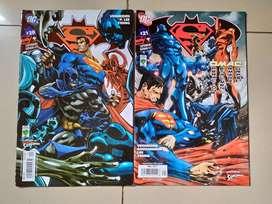 Comics de Batman Superman Metal Men