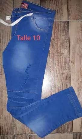 Jeans NIÑO Talle 8 y 10