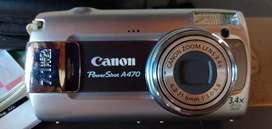 Cámara CANON PowerShot A470