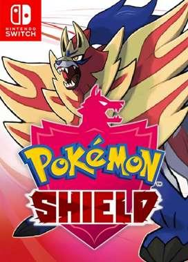 Vendo Pokémon escudo usado