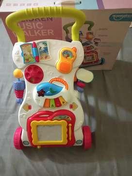 Andador caminador con accesorios con Luz y Sonido !