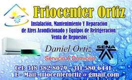 Servicio tecnico aire acondicionado  equipos de refrigeracion, lavadoras