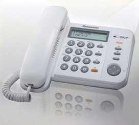 Teléfonos analógicos Panasonic kxts580 seminuevos