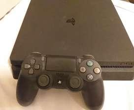 Playstation 4 Slim + control + juego