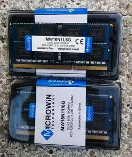 Memoria Ram ddr3 de 8 gb