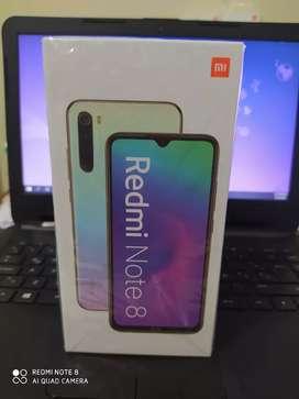 Redmi Note 8 de 4/128Gb + mica