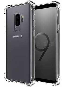 Funda TPU Termoplastico Transparente Borde reforzados  Samsung S9+ S9 Plus