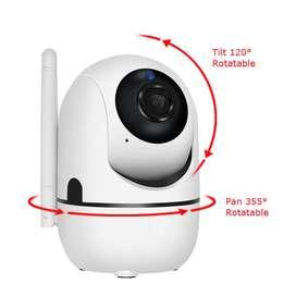 Cámara IP Wifi Auto Tracking Visión nocturna