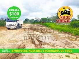 ADQUIERE TU TERRENO DE CAMPO EN PROYECTO RANCHO SPONDYLUS, CREDITO DIRECTO-APROBACIÓN INMEDIATA CON 100 USD DE ENTR, SD1