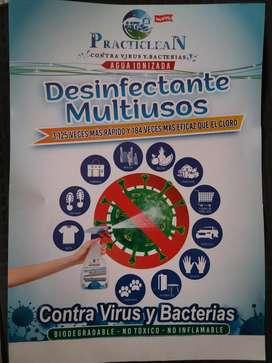 Venta de desinfectante multiusos