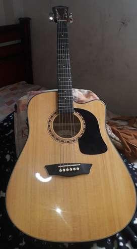 Guitarra electroacustica AD5CEPACK WASHBURN original 6 meses de uso... seminueva sin rayones
