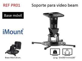 Bases para video beam