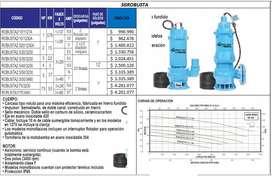 Motobomba Para Efluentes, Lodo, Aguas Residuales
