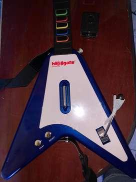 Guitarra inalambrica para ps2 y ps3 nueva sin usar