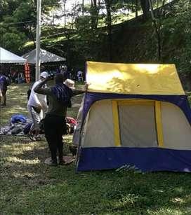 Alquiler carpas de camping