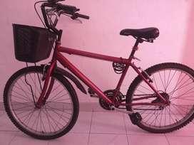 Bicicleta femina buen estado.