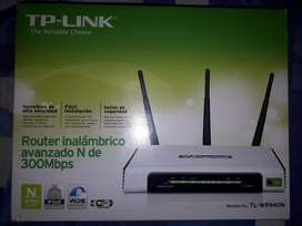 Vendo router wifi tp-link 300 mbps