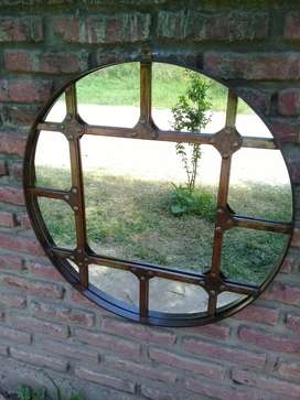 Vendo o permuto por pc ,Espejo hierro estilo industrial