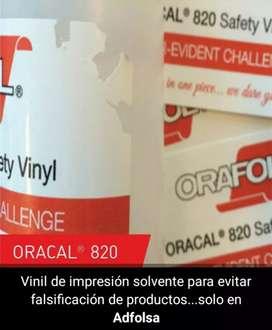 Venta de Vinil Adhesivo para Evitar Falsificación