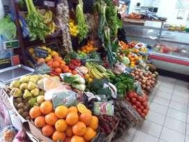 Fondo de comercio frutería en supermercado chino oportunidad