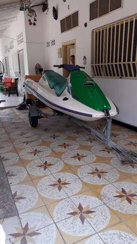 Vendo moto de agua bombardier slx 650