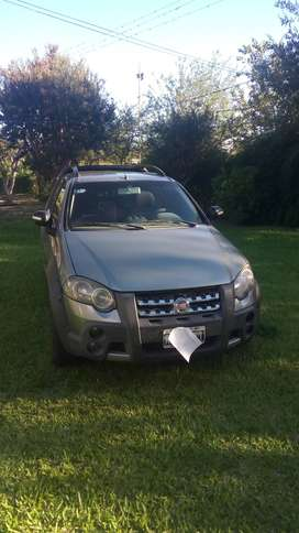 Fiat strada  adventure cab.doble 1.6 locker GNC 2011