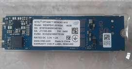 Modulo De Memoria Intel Optane M10-16gb Puerto M2