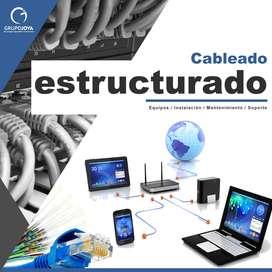 REDES CABLEADO ELECTRICIDAD COMPUTADORES IMPRESORAS