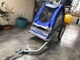 Trailer para llevar a tu hijo en la bici