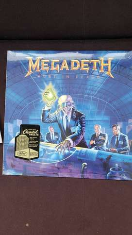 Rust In peace - Megadeth Vinilo