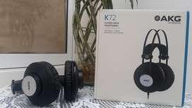 Diademas Audifonos Estudio Akg K72 Nuevo