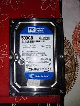 Disco Rígido De 500gb Western Digital Blue