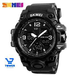 Reloj Skmei LED ACUÁTICOS versión militar