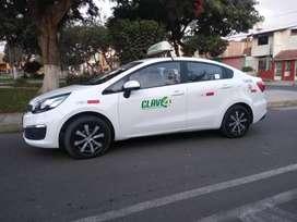 Ocasión vendo taxi Kia rio listo para trabajar