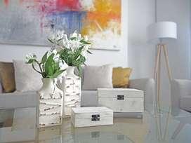 Florero, cajas decorativas NUEVO