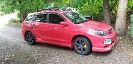 Toyota matrix XTS manual 6 cambios