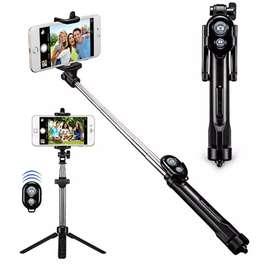 Selfie stick bluetooth camara