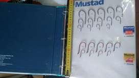 Libro Catalogo Anzuelos Mustad