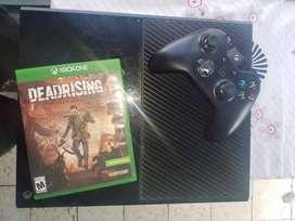 Xbox one, 500 GB, un control, un juego fisico