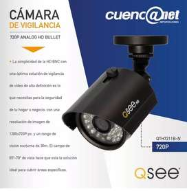 CAMARA QTH7211BN HD ANALOGA BULLET 720P QSEE