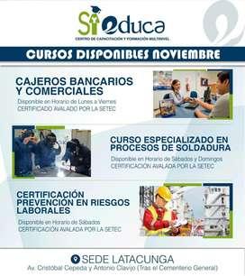 Cursos y Certificaciones por Competencias - 0999270997