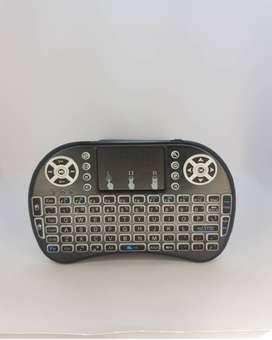 TouchPad QWERTYMini Teclado Inalámbrico Smart Tv Box Laptop
