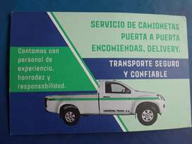 Camionetas Entregas Carga.