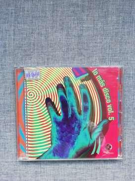 """CD """"Lo más Disco"""" Vol 5  año 1997"""
