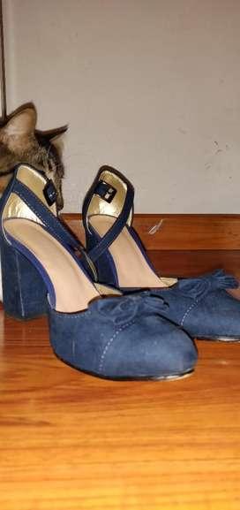 Zapatos Johanna Cano- Azules