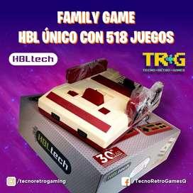 Family Game con 518 Juegos